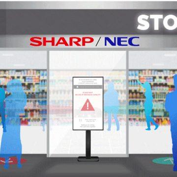 Sharp NEC punta sull'Entrance Flow Management per il settore retail