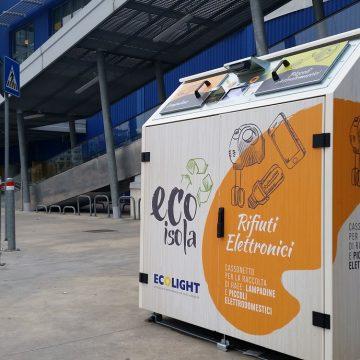 Nelle EcoIsole di Ecolight raccolte 15 Tonnellate di RAEE