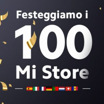 100 Mi Store Xiaomi in Europa occidentale
