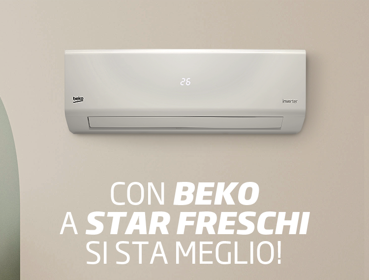 """Al via la promo """"Stai fresco con Beko"""""""
