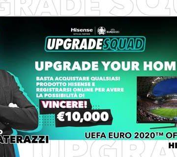 Hisense Marco Materazzi Ambassador per l'Italia
