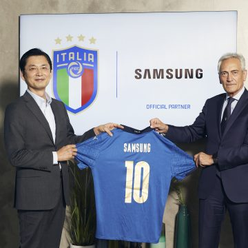 Samsung Official Sponsor della FIGC