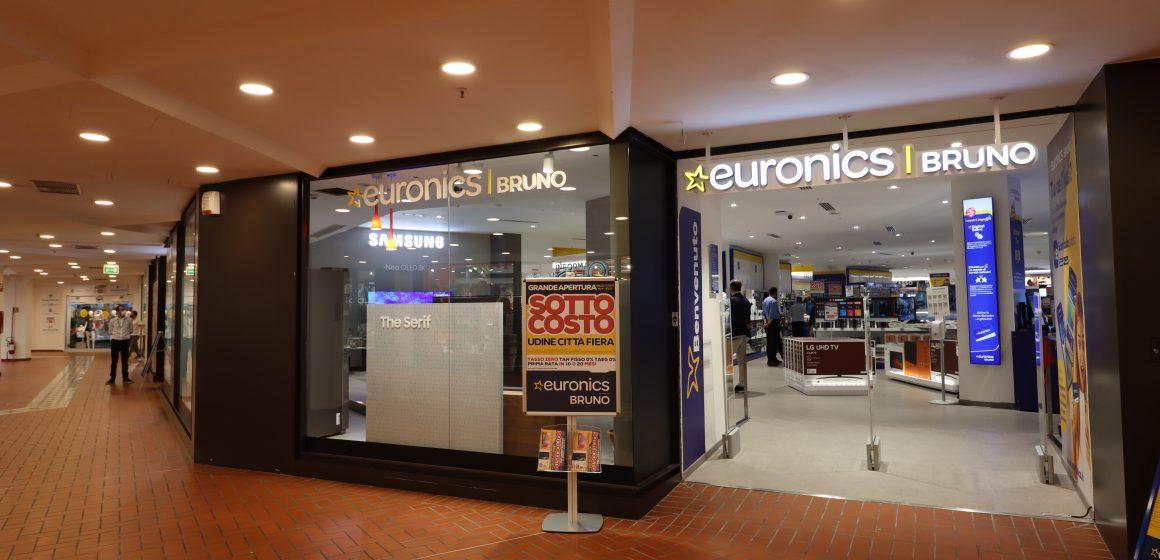 Euronics-Bruno apre a Udine