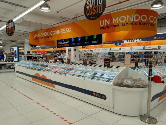 Unieuro rinnova la rete e reinaugura 12 store in tutta Italia